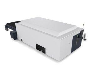 металл табақ / түтіктер өнеркәсіптік лазерлік кесу машинасы қос моторлы жоғары ұшты cnc жүйесі