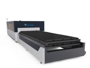 қос пластикалық өнеркәсіптік лазерлік кескіш машина 380в металл пластина құрылымына арналған