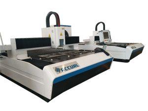 металл / легирленген болат / мыс үшін түпнұсқа талшықты лазерлік лазерлік кесу машинасы