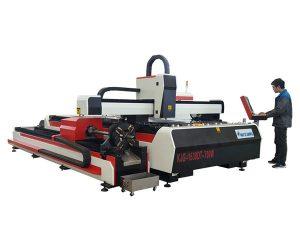 талшықты лазерлік металл кесетін машина 500w 800w 1kw 800mm / s жұмыс жылдамдығы