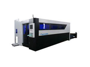 Көміртекті болат үшін 500w талшықты лазерлік кескіш машина