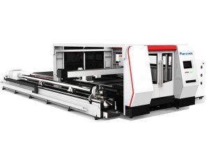 cnc талшықты лазерлік түтік кесетін машина 1000w cypcut басқару жүйесімен